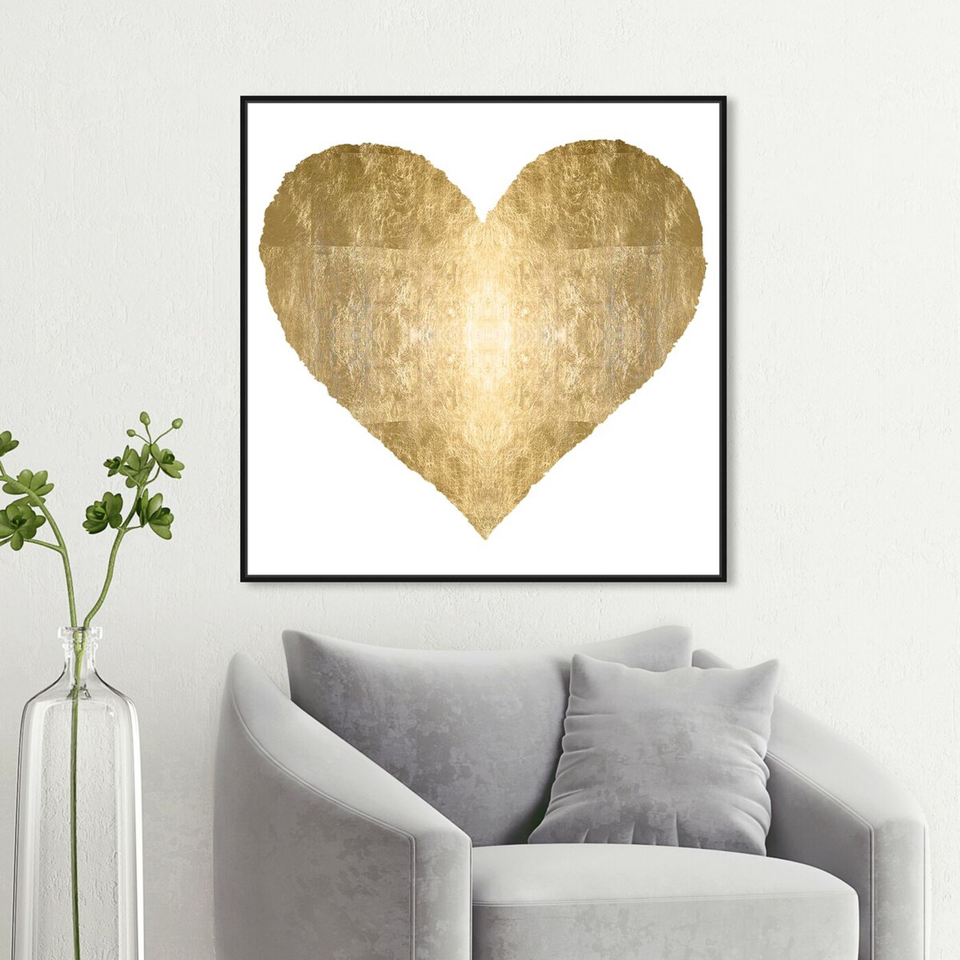 Hanging view of Forever and Ever featuring fashion and glam and hearts art.