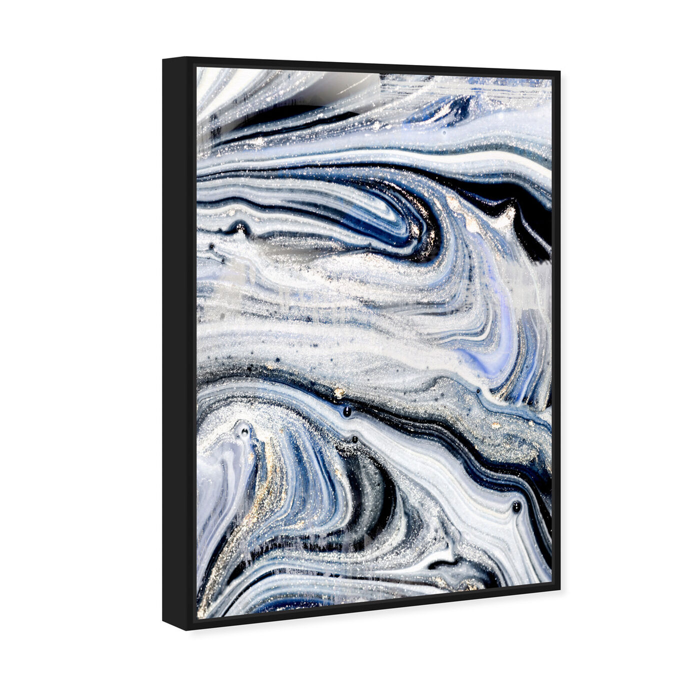 Angled view of Mystic Morning featuring abstract and paint art.