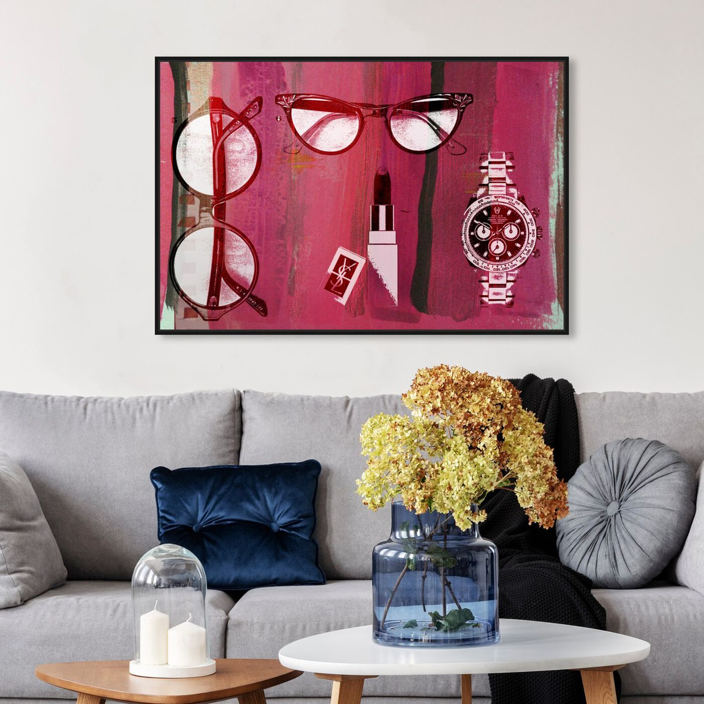 Hanging view of Ready for Spring featuring fashion and glam and accessories art.
