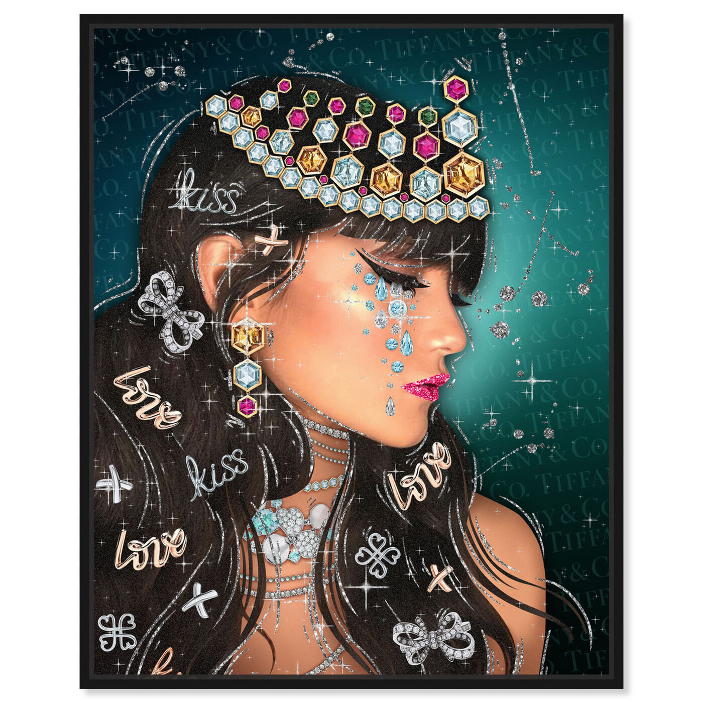 Front view of Lovely Jasmine featuring fashion and glam and portraits art.