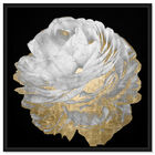 Front view of Gold and Light Floral featuring floral and botanical and florals art. image number null