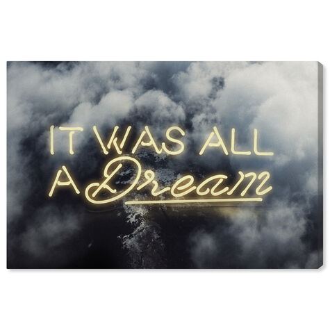 IT WAS ALL A DREAM - YELLOW
