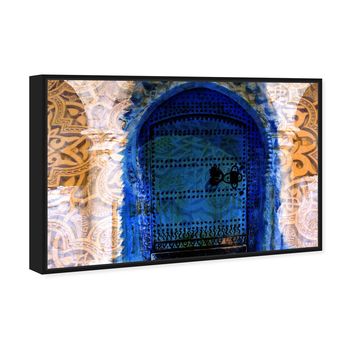 Angled view of Porte du Morocco featuring world and countries and african countries art.
