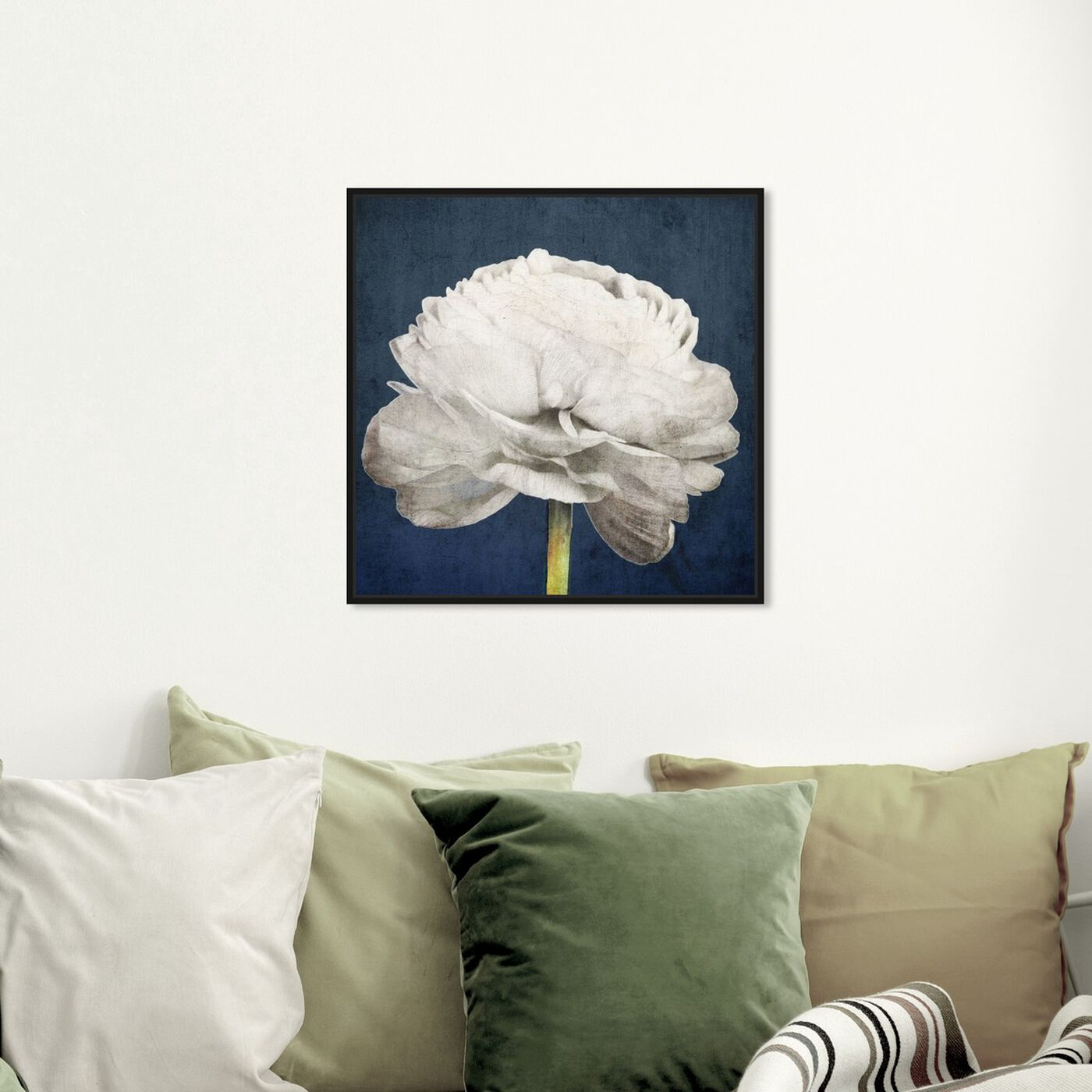 Hanging view of Pretty View featuring floral and botanical and florals art.