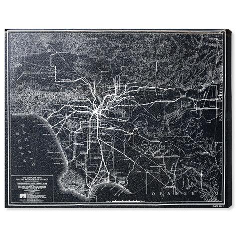 LA Rapid Transit Map 1925