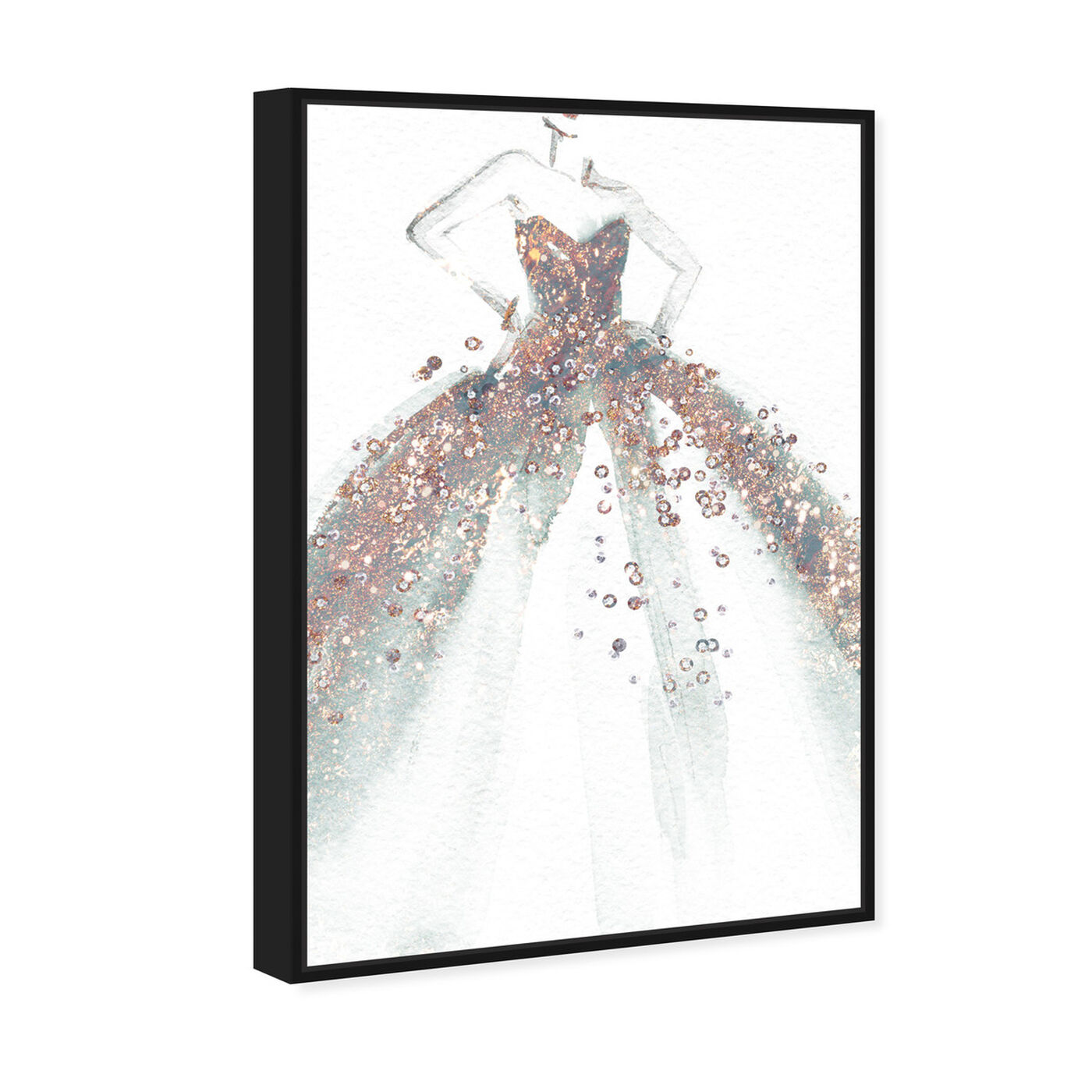 Angled view of Star of the Ball featuring fashion and glam and dress art.