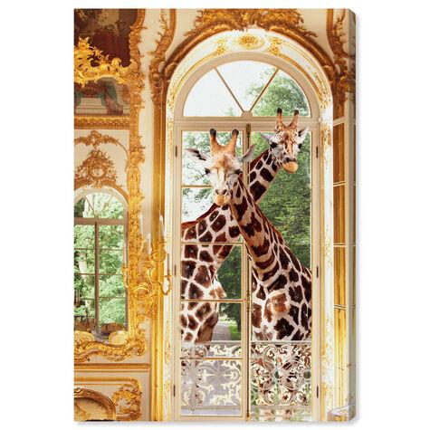 Giraffes Joined For Breakfast