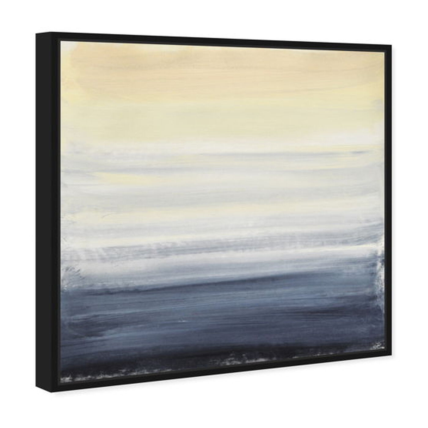 Angled view of Sea Fog featuring abstract and paint art.