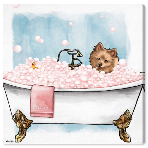 Pets in the tub