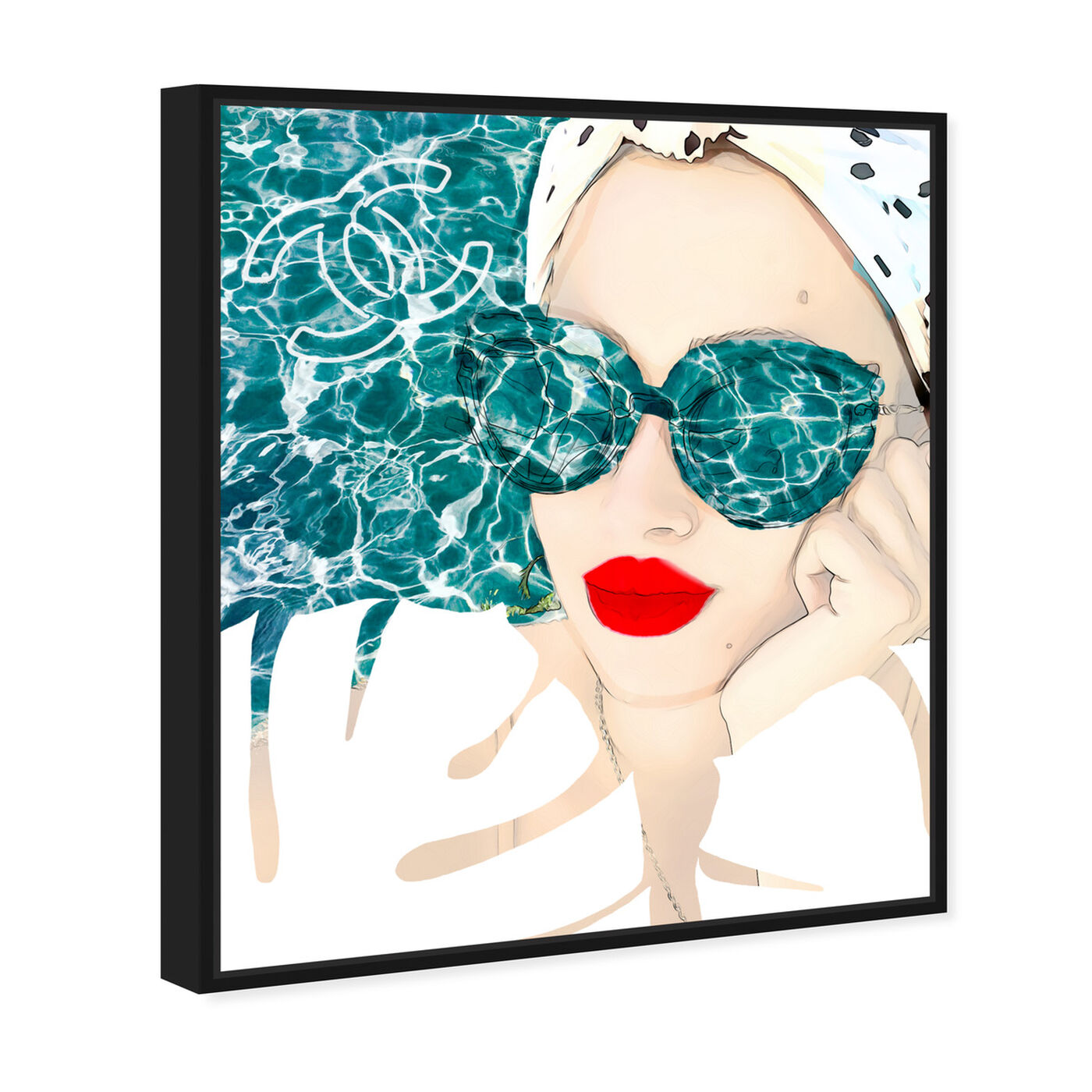 Angled view of MariPily featuring fashion and glam and portraits art.