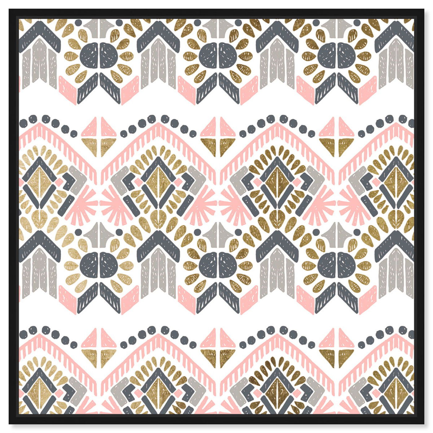 Front view of Soft Tribal featuring abstract and patterns art.