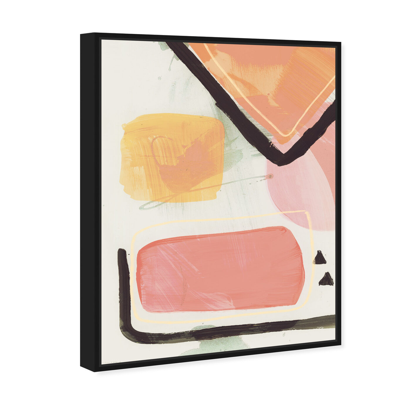Angled view of Convince Your Lover featuring abstract and paint art.