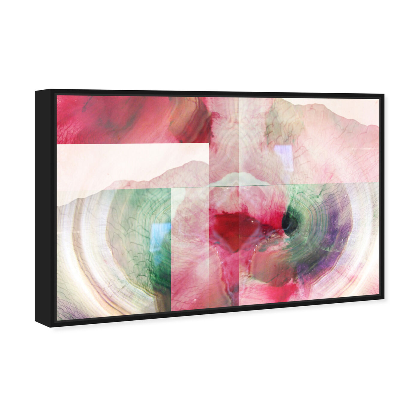 Angled view of Pascha featuring abstract and paint art.