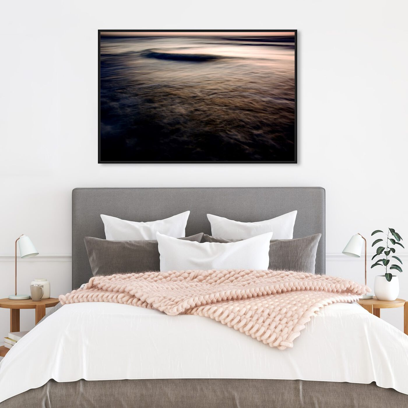 Hanging view of After the Sun Has Set II featuring nautical and coastal and coastal art.