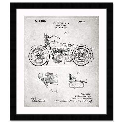 Harley, 1928 - Gray