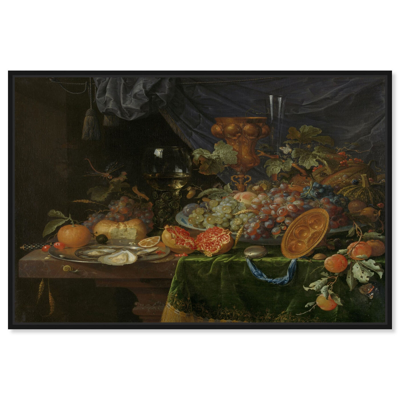 Front view of Fruit Arrangement - The Art Cabinet featuring classic and figurative and realism art.