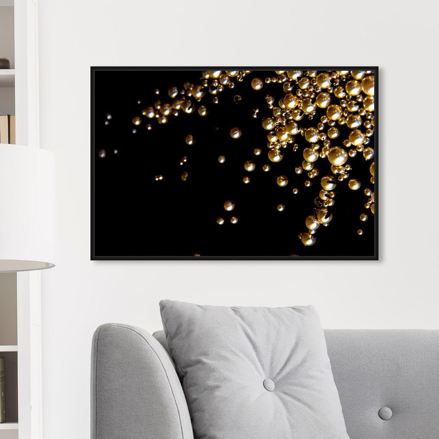 Hanging view of Mark Zunino - Raining Beads featuring fashion and glam and jewelry art.