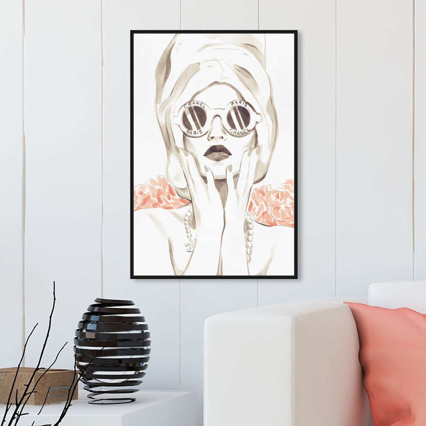 Hanging view of Bath Bomb Beauty featuring fashion and glam and portraits art.