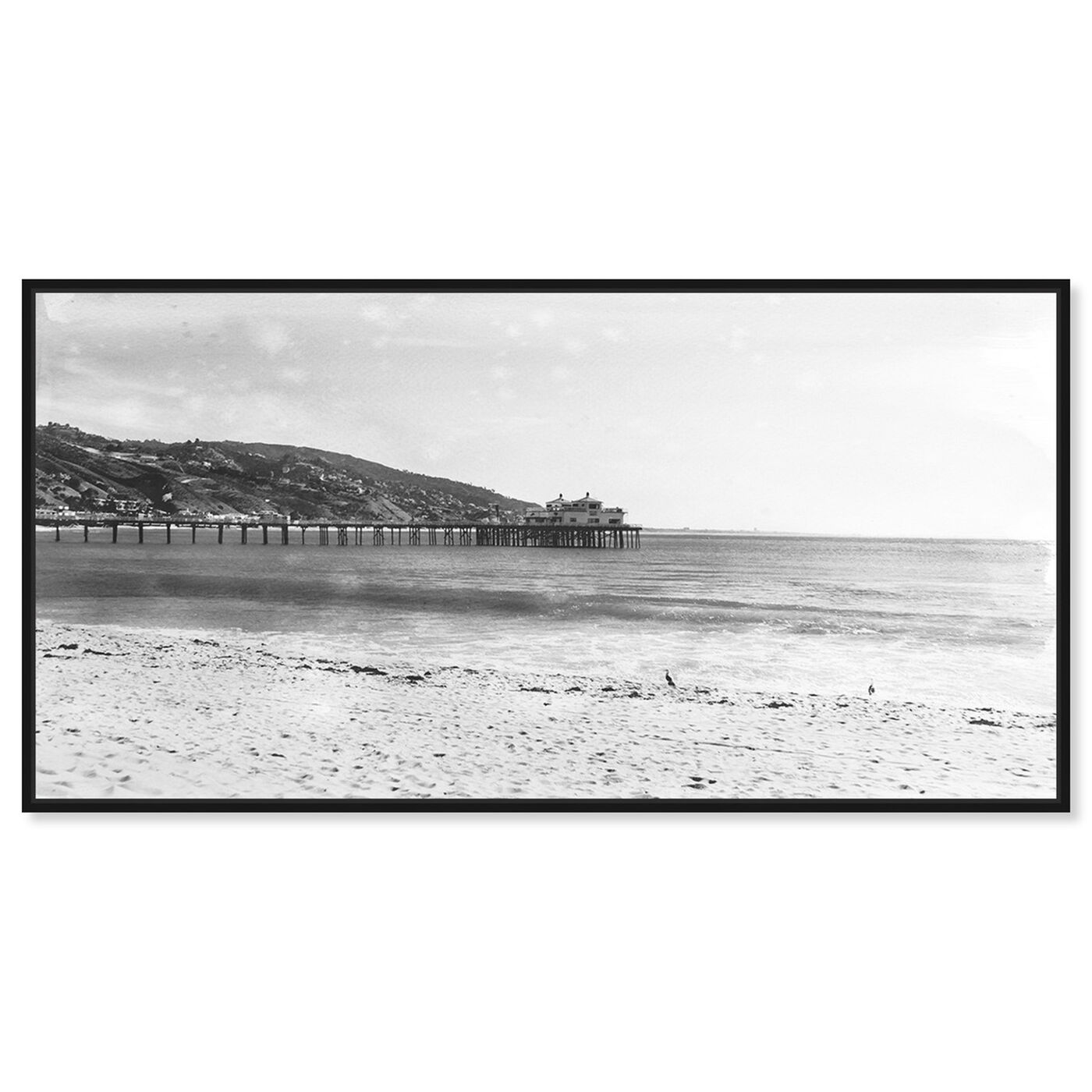Front view of On The Pier featuring nautical and coastal and coastal landscapes art.