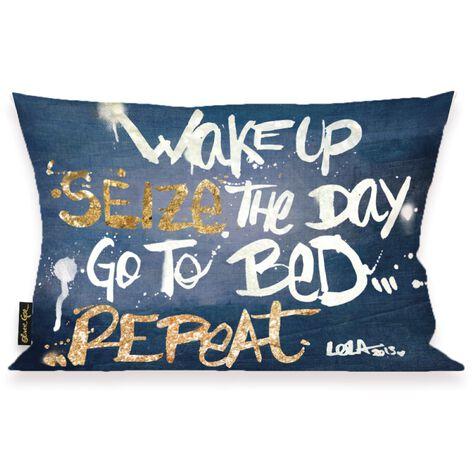 Seize it Denim Pillow