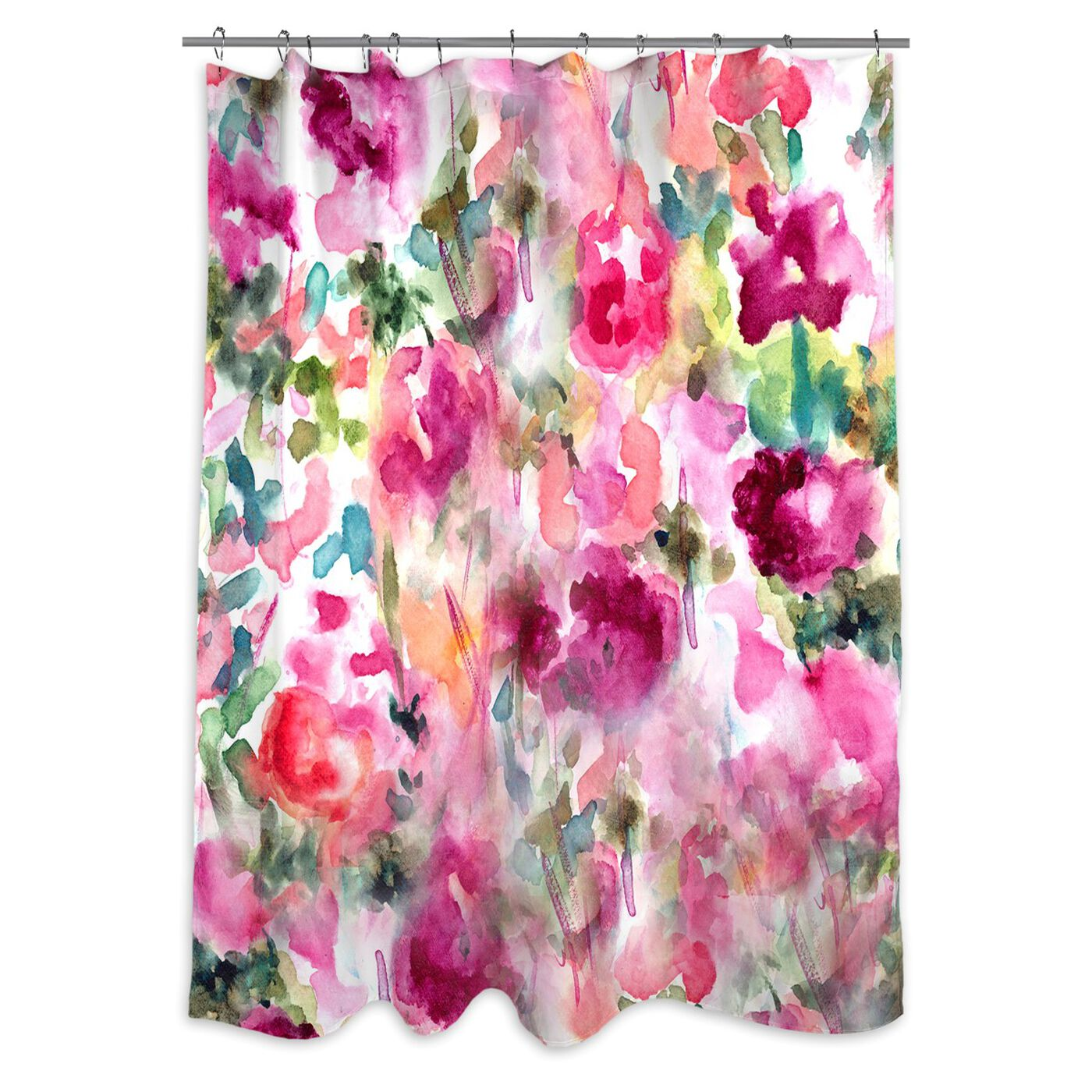 In Wonderland Shower Curtain