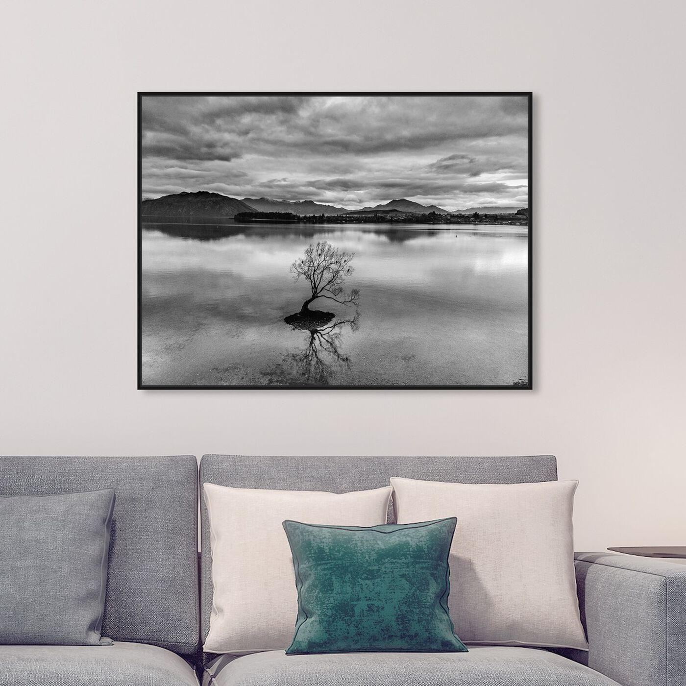 Hanging view of Curro Cardenal - Unbounded Love Noir featuring nature and landscape and nature art.
