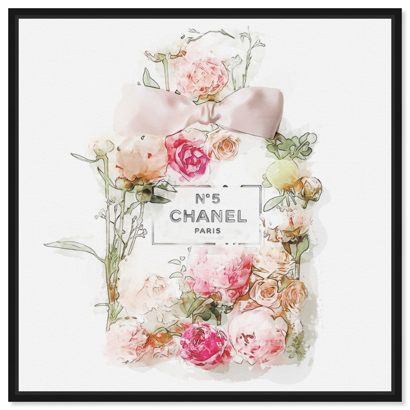 Front view of Blooming Perfume featuring fashion and glam and perfumes art.