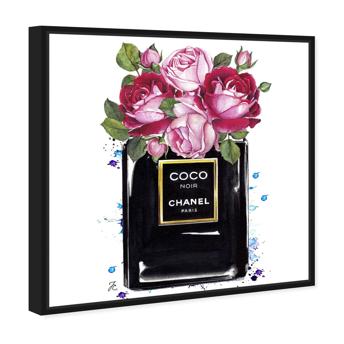 Angled view of Doll Memories - Coco Roses featuring fashion and glam and perfumes art.