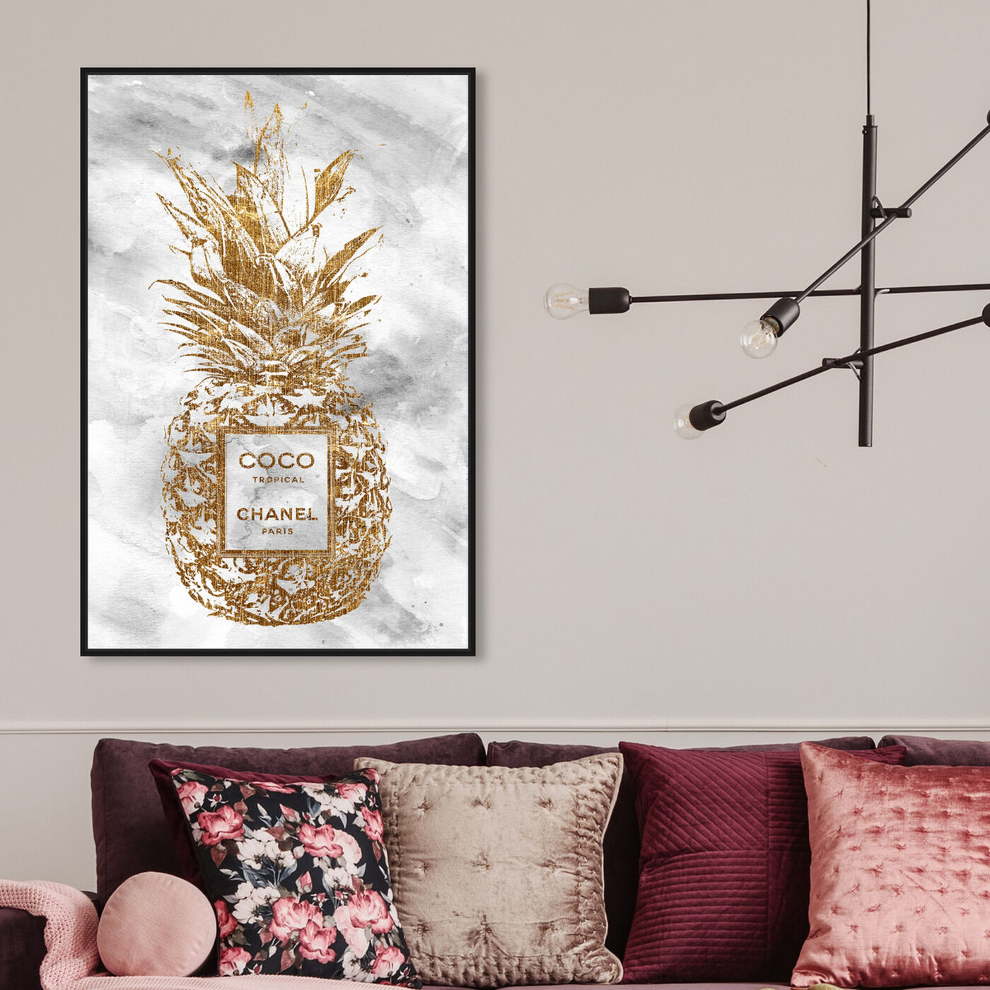 Hanging view of Coco Tropical featuring fashion and glam and fashion lifestyle art.