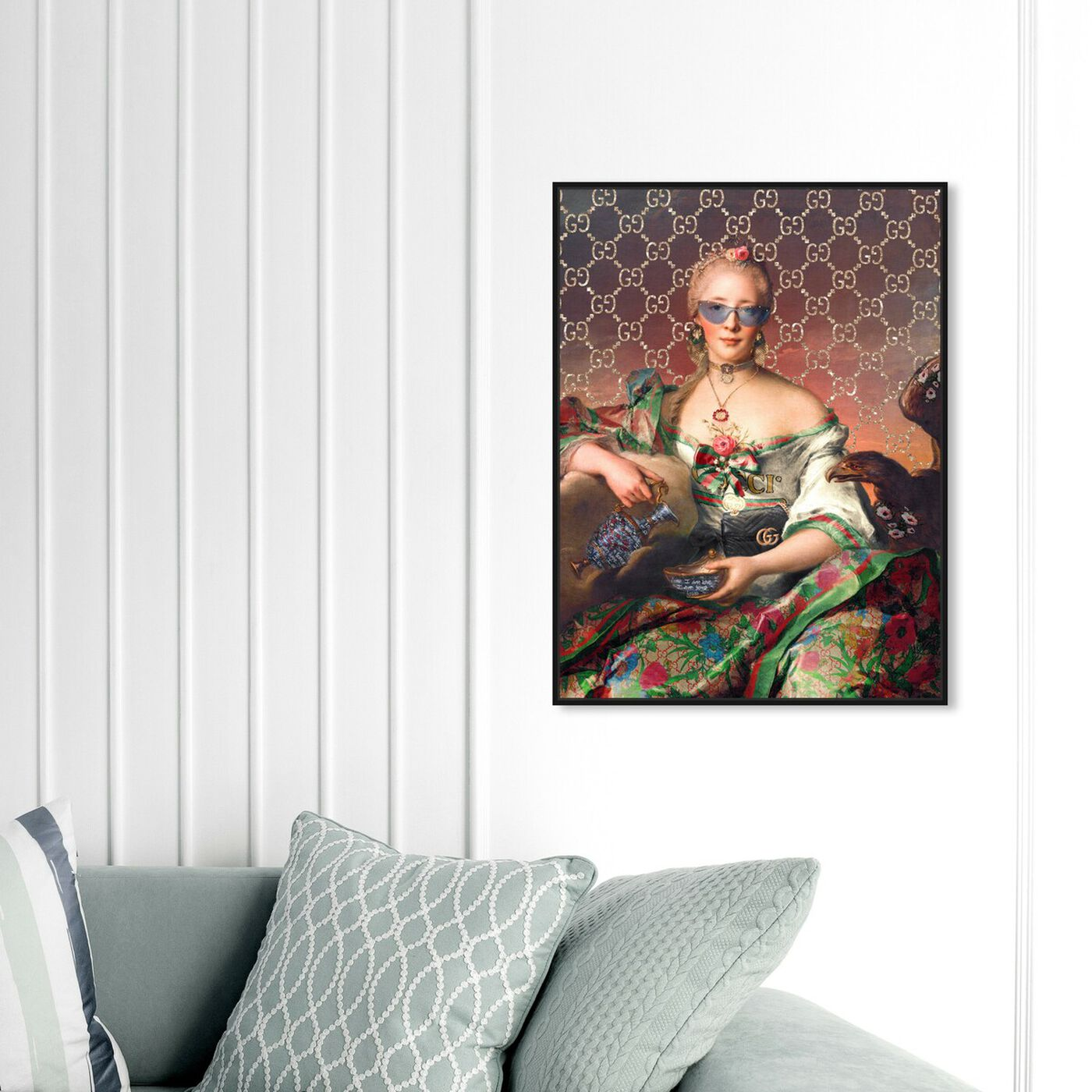 Hanging view of Urban Madame featuring fashion and glam and handbags art.