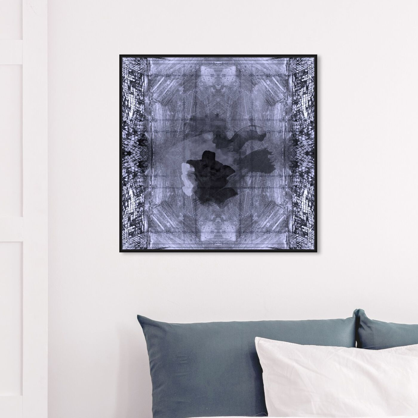 Hanging view of Dalia featuring abstract and paint art.