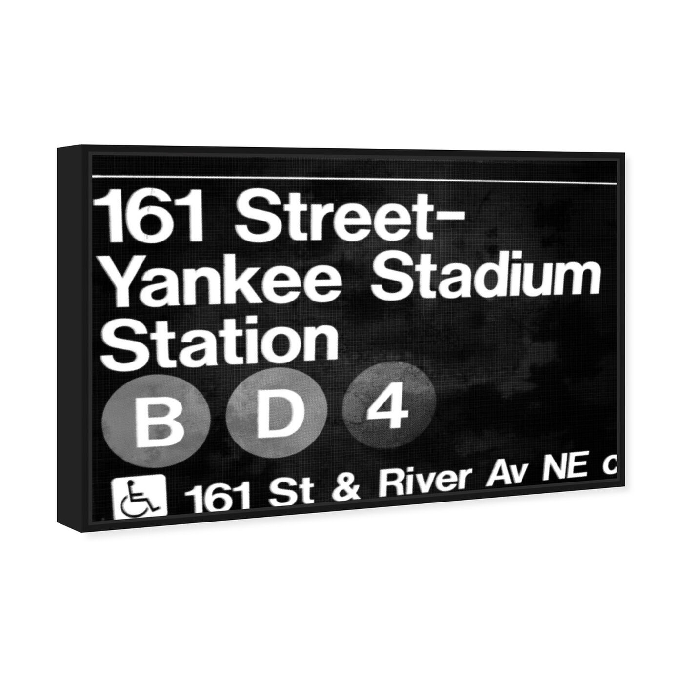 Angled view of Yankee Stadium featuring cities and skylines and united states cities art.