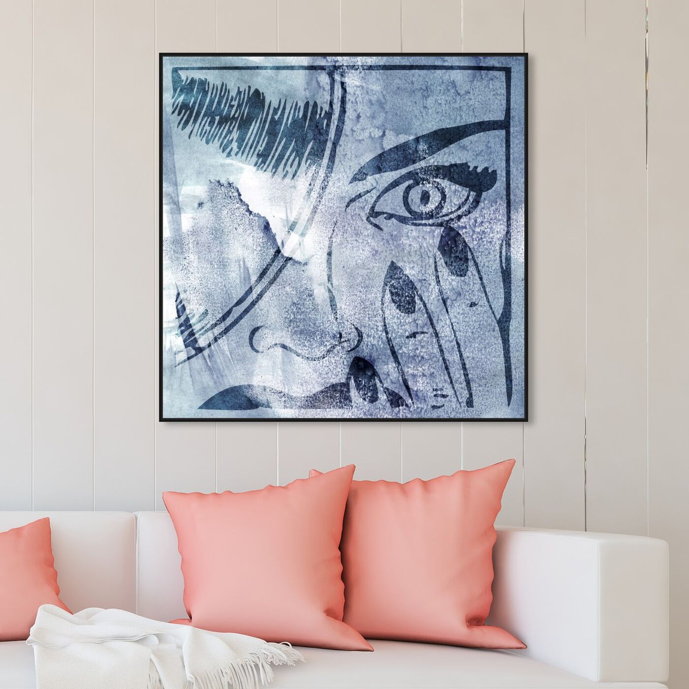 Hanging view of Revenge featuring fashion and glam and portraits art.