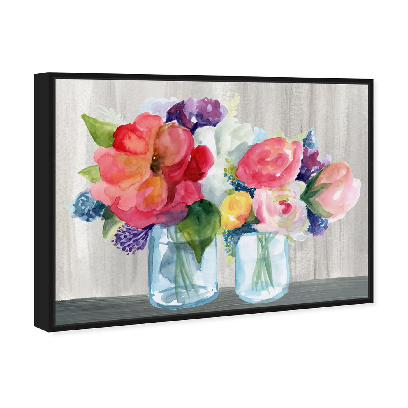Angled view of Flower Shop featuring floral and botanical and florals art.