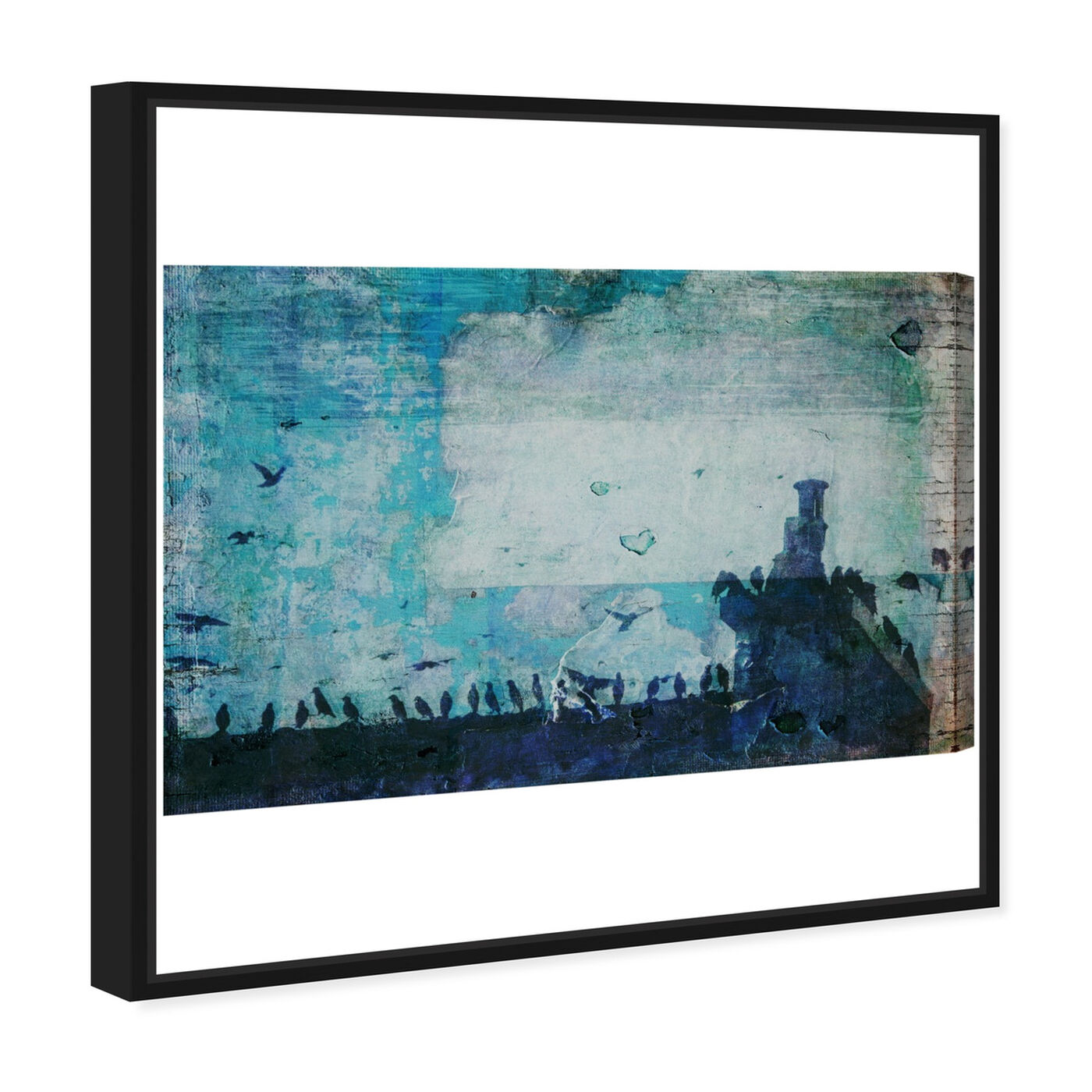 Angled view of Morning in Florence featuring nature and landscape and country landscapes art.