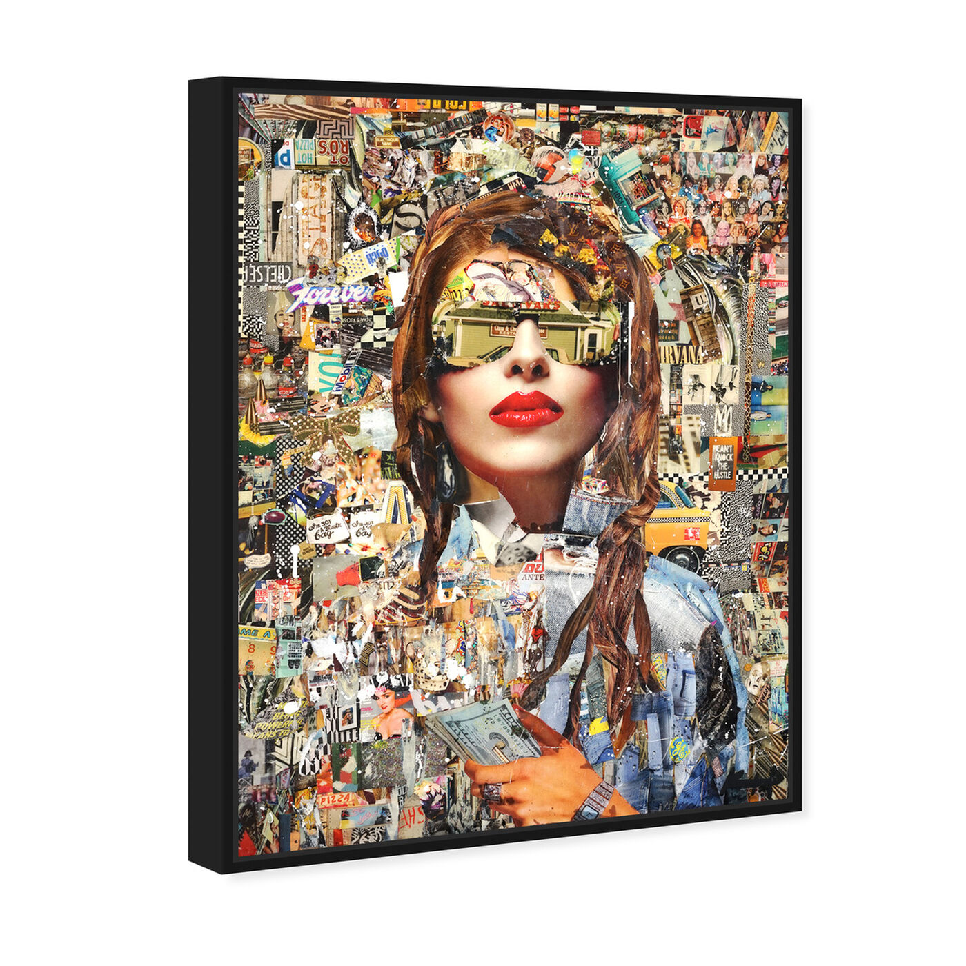 Angled view of Katy Hirschfeld - Successful featuring fashion and glam and portraits art.