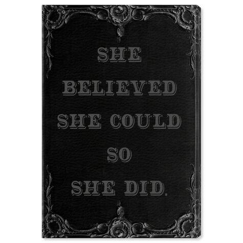 She Believed She Could II
