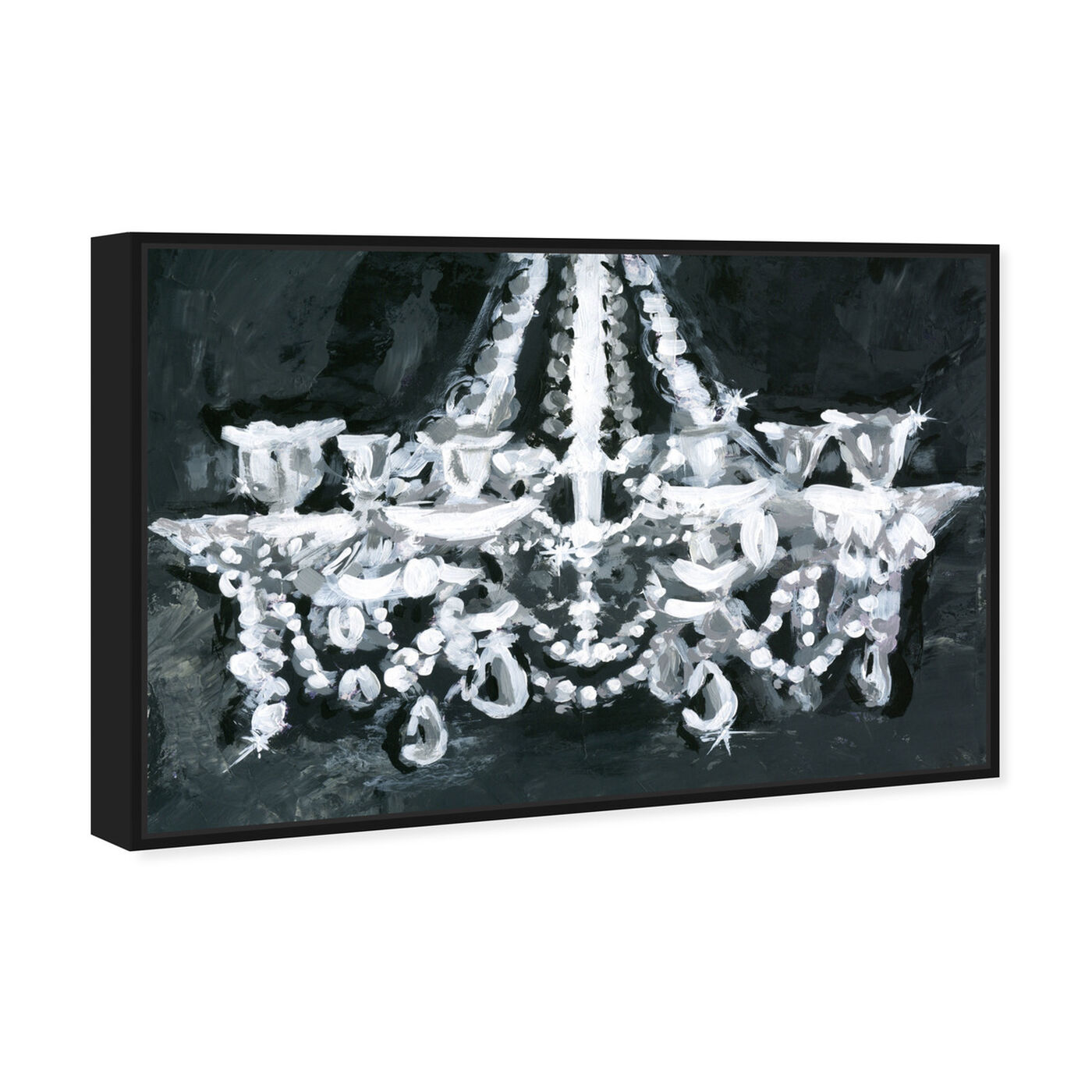 Angled view of BW Candelabro featuring fashion and glam and chandeliers art.