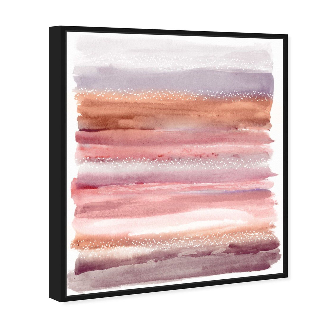 Angled view of Lares Sunset Desert featuring abstract and paint art.