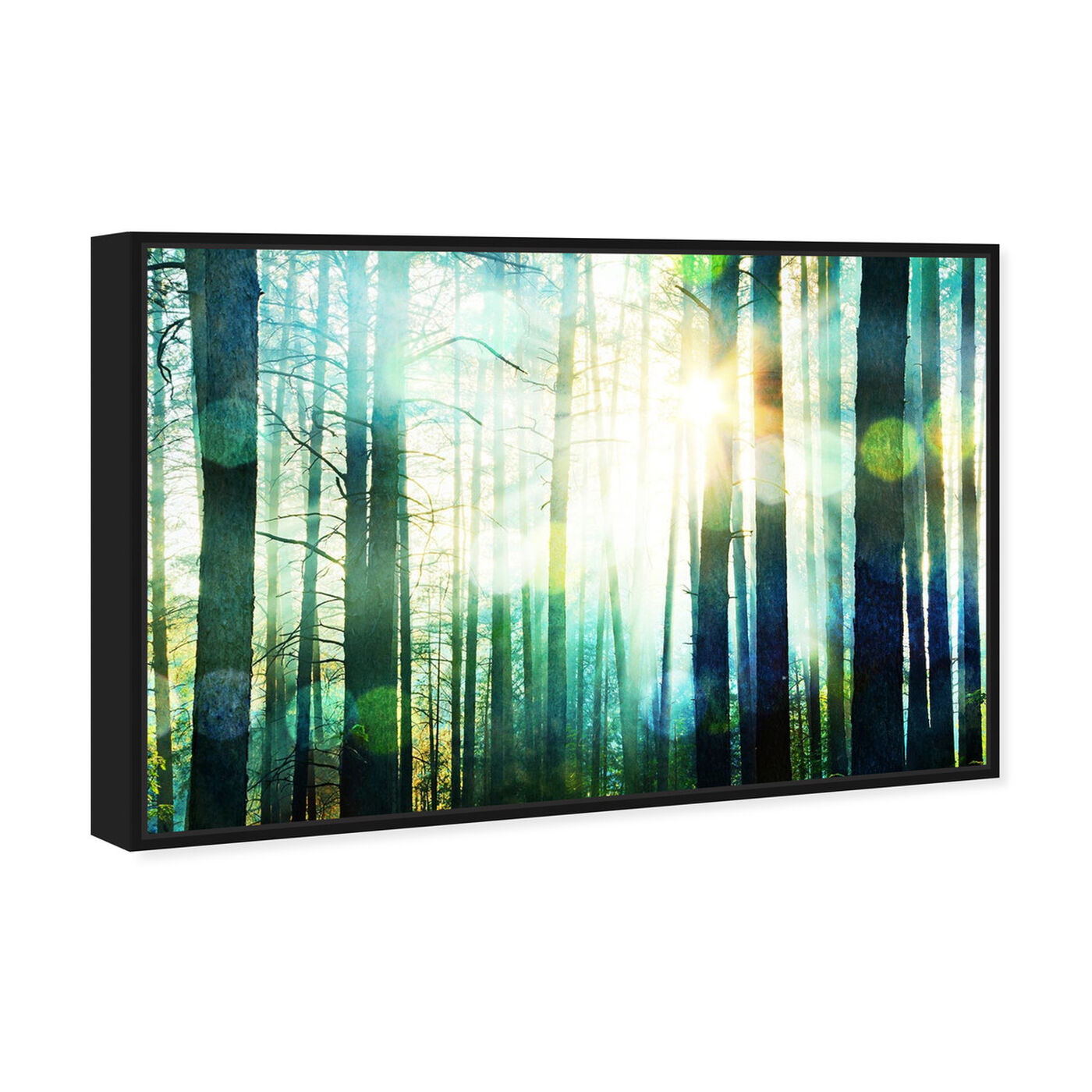 Angled view of Breathe Deep featuring nature and landscape and forest landscapes art.