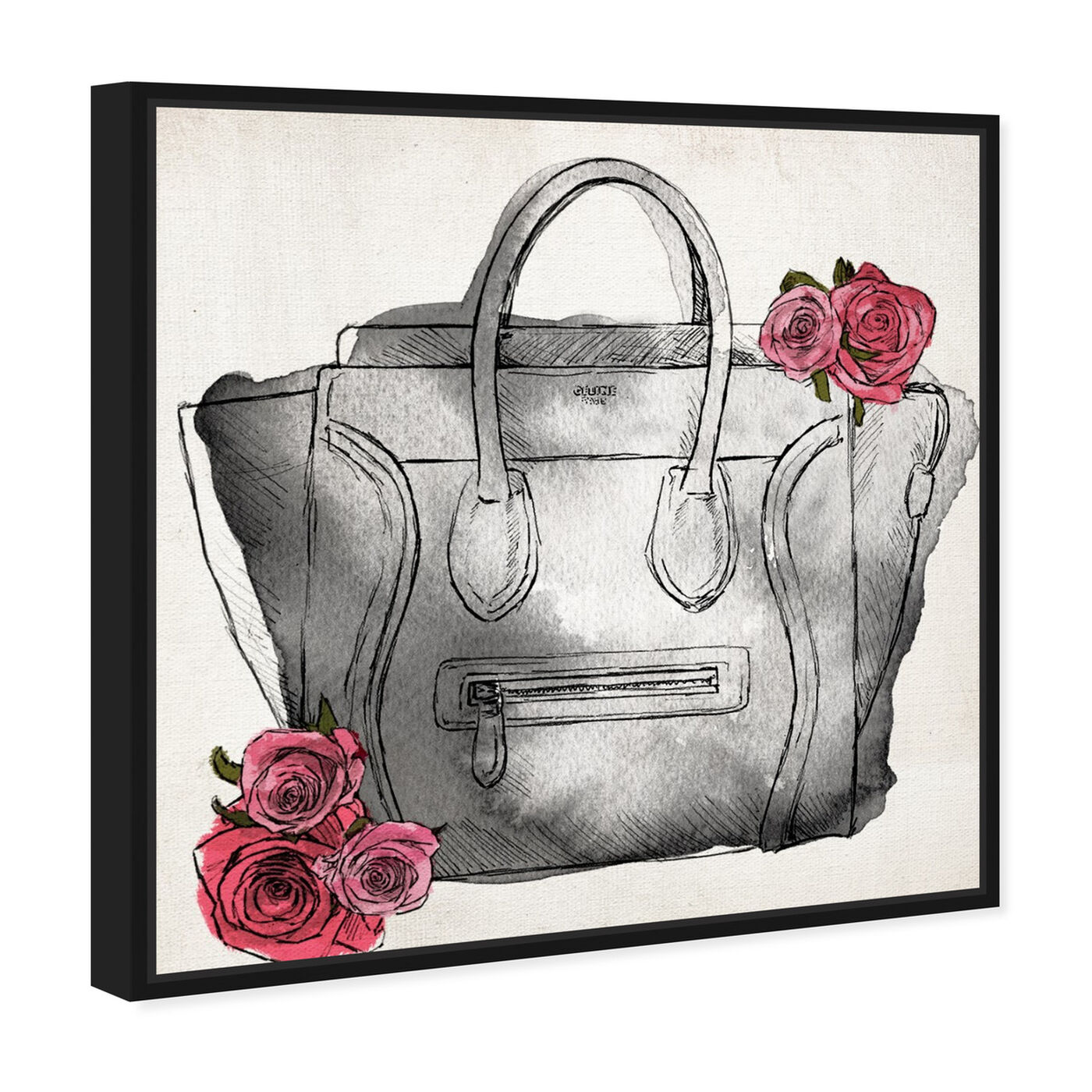Angled view of Spoil Me Please Classic featuring fashion and glam and handbags art.