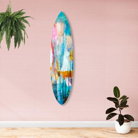 Watercolor Surfboard 2