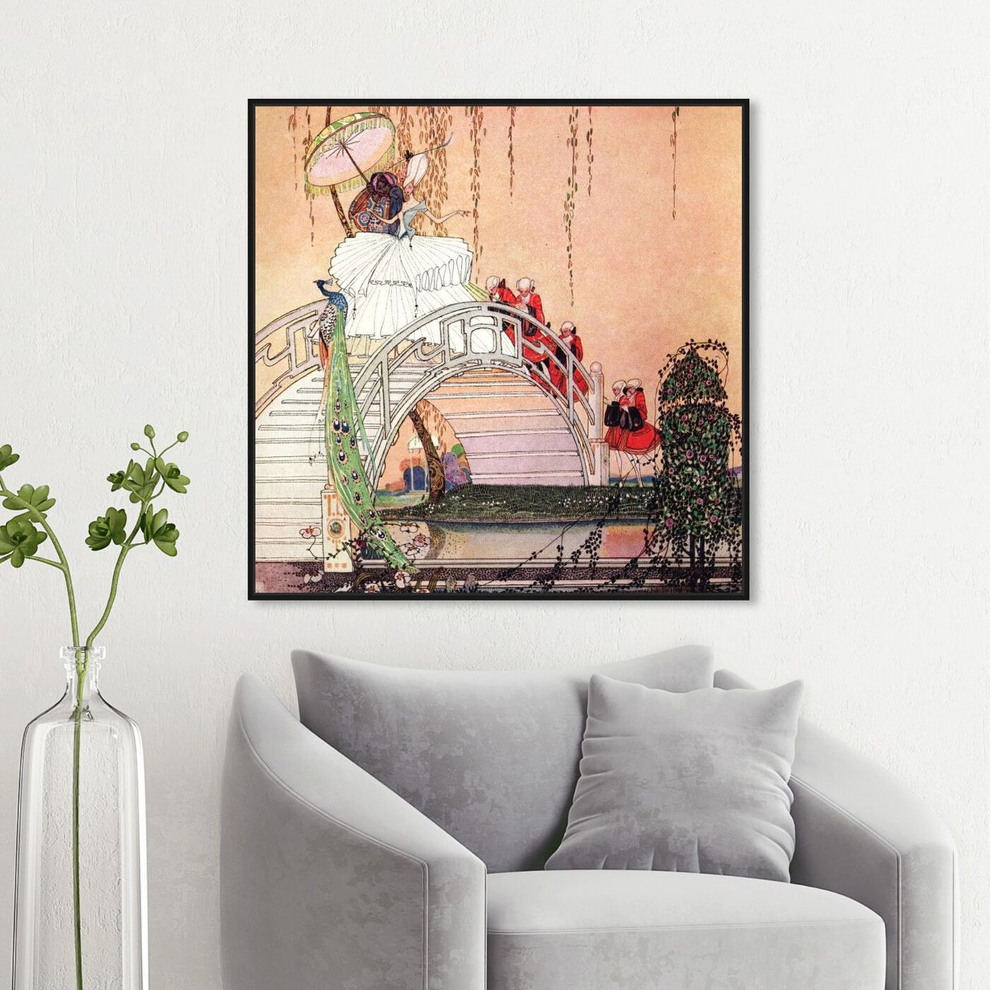 Hanging view of Minette featuring fantasy and sci-fi and fairy tales art.