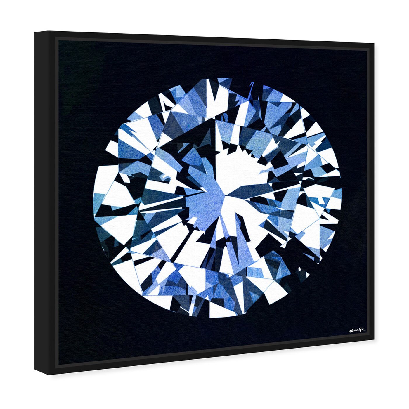 Angled view of Diamonds Are Forever featuring fashion and glam and jewelry art.