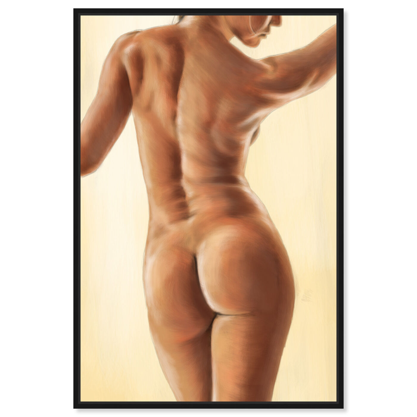 Front view of Sun Kissed featuring people and portraits and nudes art.