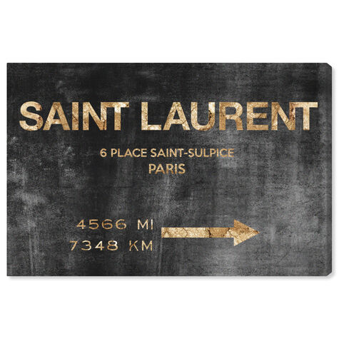 Saint Sulpice Road Sign
