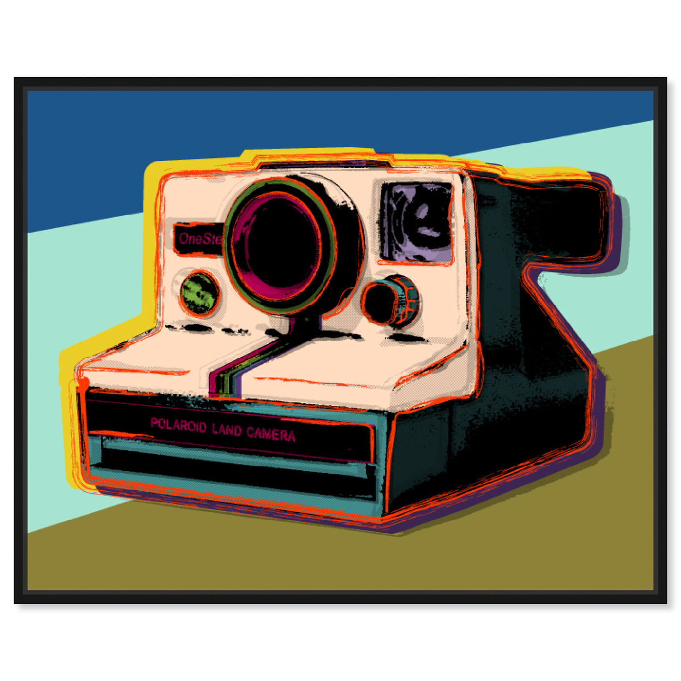 Front view of Polaroid Visions featuring entertainment and hobbies and photography art.