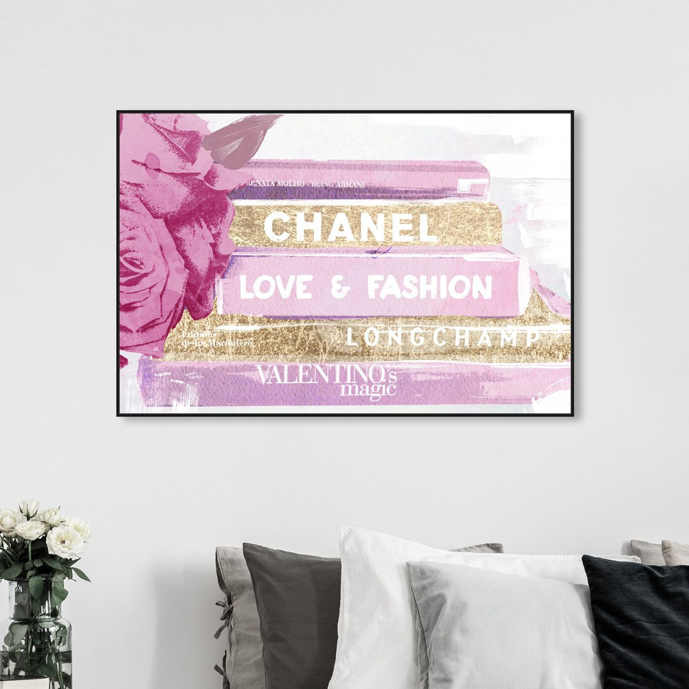 Hanging view of My Ideal Style featuring fashion and glam and books art.