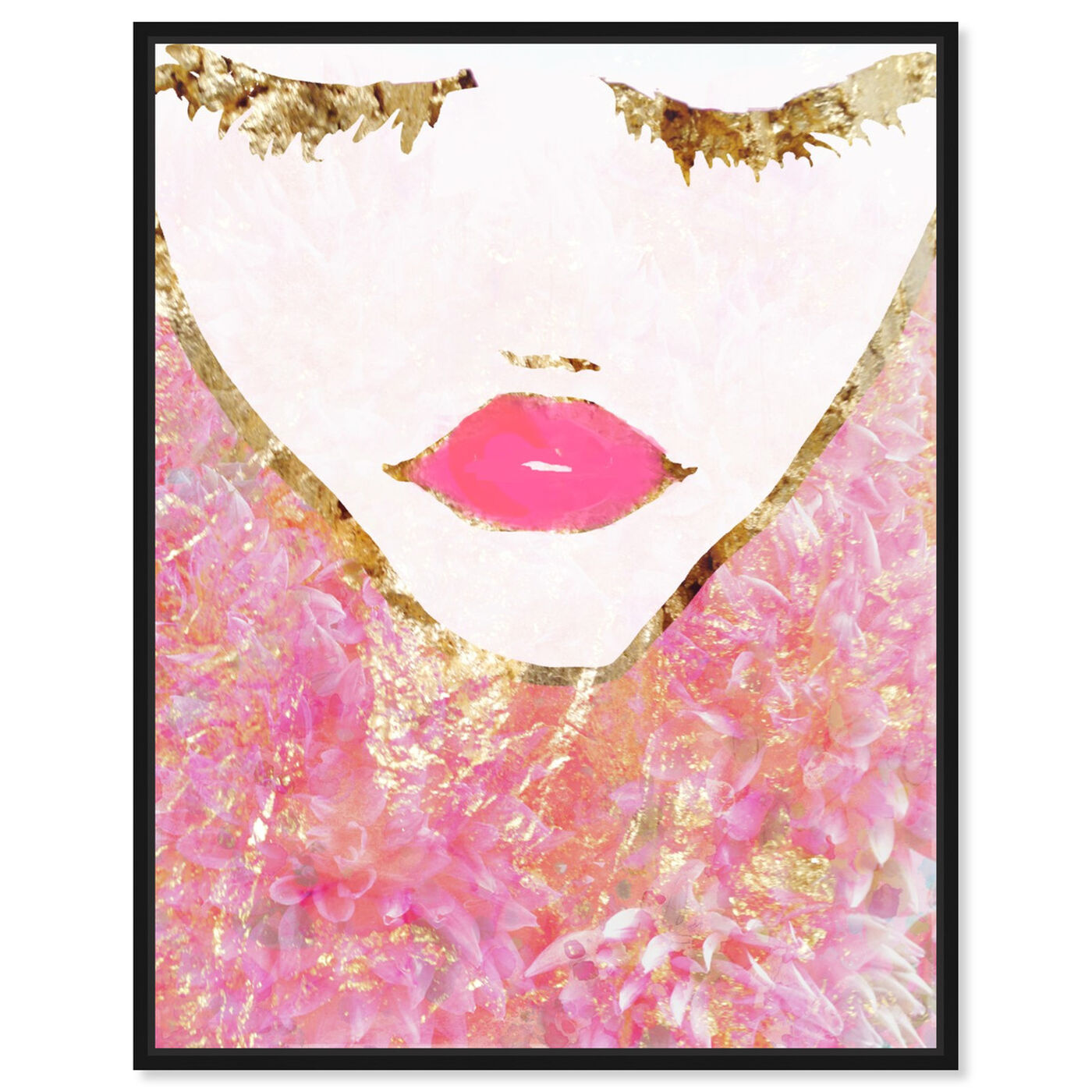 Front view of Goldbloom Coveted featuring fashion and glam and portraits art.