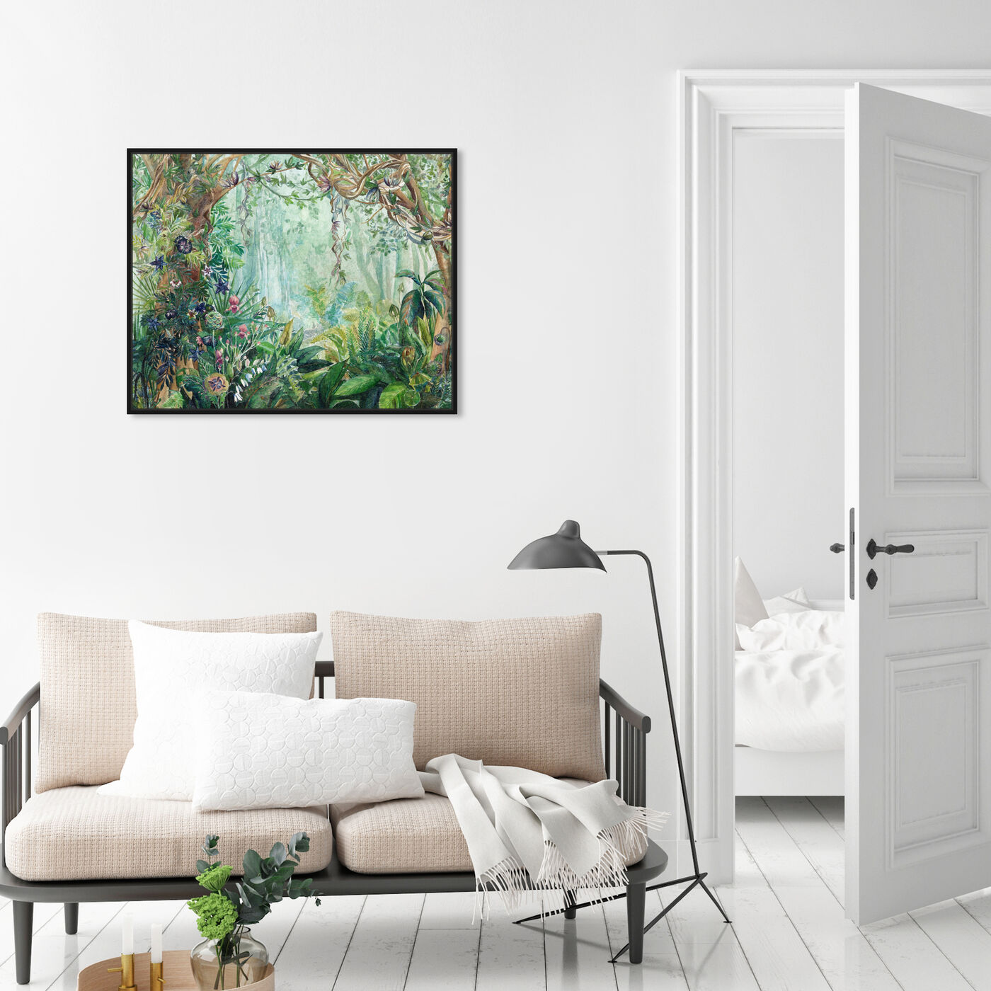 Hanging view of Dreamy place featuring floral and botanical and gardens art.